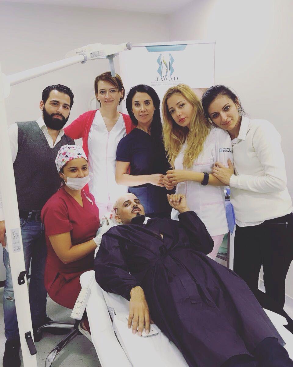 تجربة زراعة الشعر للسيد عياد من السعودية